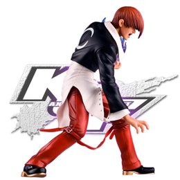 Wholesale Action Figure King Fighters - Anime 18cm K.O.F KOF The King of the Fighters Yagami Iori PVC action Figure model toy