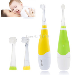 Wholesale Electric Toothbrush Water - Free Shipping Oral Hygiene Dental Care Inductive waterproof Electric Toothbrush Water Sensor Rotating child Toothbrush