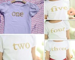 Wholesale Inspiration White - posh short sleeve kids tshirt Gold baby tshirt-glitter gold shirt -Girls Birthday Top-Vintage inspiration white tshirt