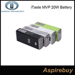 Wholesale Mvp Batteries - Innokin iTaste MVP 20W Variable Voltage Wattage Battery 3.7V 2600mAh Box Mod Battery for Innokin iClear X 30B Atomizer 100% Original