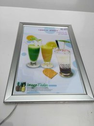 Wholesale Snap Box Frames - A1 LED illuminating Snap Frame Light Box with Restarant Take Away Graphic Menu