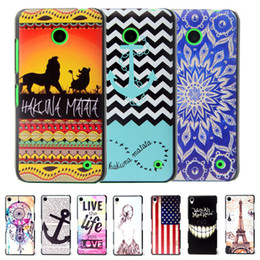 Wholesale Thinnest Lumia Phone Case - Wholesale-Brand Ultra Thin Cartoon Pattern Matte Hard Plastic Back Case for Microsoft Nokia Lumia 630 635 Cell Phone Protective Cover