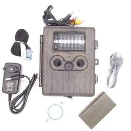Wholesale Mms Camera Ir - 12MP 1080p Outdoor MMS (2G) Wildlife Hunting Trail Camera Mail GSM GPRS MMS waterproof Hunting camera with 42 pcs IR LEDs HT-002LIM