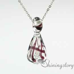 Wholesale Pet Cremation Jewelry - glass urn necklace urn necklace uk cremation urn jewelry pet memorial necklace pet urn necklaces lockets for ashes