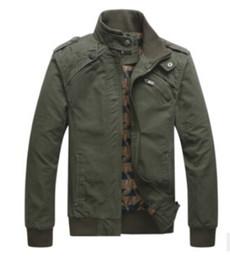 Wholesale college outerwear - New Fashion Men Army Military jackets men winter Outerwear College Military Sportswear Men Jackets Outdoor Slim Warm Overcoat