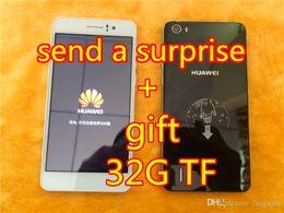 Wholesale Dual Sim Logo - free shipping!2015 New cheap original 1:1 Huawei honor 6 MTK6592 2GB+16GB 13MP 3G android 4.4 5.0'' inch Dual SIM original huawei logo+gift