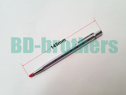 Wholesale Engraving Tips - Diamond Pen Glass Cutter Lettering Carbide Tipped Scriber Engraving Pen Professional for Phone Tablet PC Glass Screen Cutting 50pcs