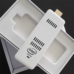 Wholesale Mini Computers China - 2015 New Mini PC Intel Windows 10 OS Computer Mini PC Stick HDMI WiFi Bluetooth Computer Stick Pocket Portable PC 2GB 32GB