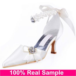 Wholesale Silver Strappy Wedding High Heels - Ankle Lace up Strappy Wedding Bridal Dance Dress Shoes For Womens Brides Evening Prom Party Fashion Sexy High Heels Ladies Pumps Sandals