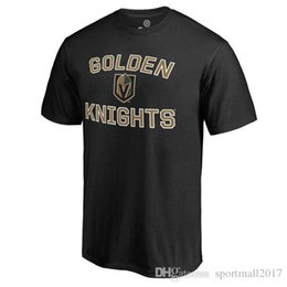 Wholesale T Shirt Kids Short Sleeve - 2017 NHL Vegas Golden Knights 29 Marc-Andre Name & Number T-Shirt for man women kid
