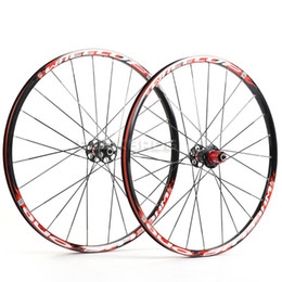 Wholesale WHEEL UP MTB quot Wheels Wheelsets ONE Black Red for SHIMANO SRAM S S S Bicycle Parts