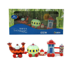 Wholesale Wind Car Toy - Wholesale-In The Night Garden plastic Wind up toy Ding-ding Car