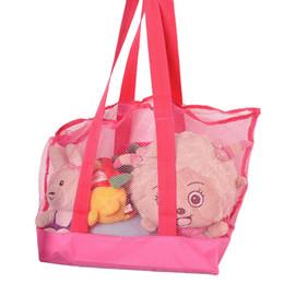 Colección de ropa online-2015 Precio más bajo arena grande bolsa de playa de malla para niños Juguetes de playa Ropa Bolsas de toallas bolsa de colección de juguetes de bebé EN stock 30P B146