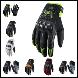 Wholesale Gears For Bikes - 2017 New Winter Thickening Cycling Gloves FOX Unisex Dirtpaw Rockstar 5 Colors Full Finger Gloves Protective Gear for Bike
