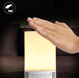 Wholesale Party Tent Lights - Wireless Bluetooth Music Box Speaker Camping Tent Lighting LED Night Lamp Adjustable Brightness Smart Room Mood Light