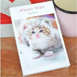 Wholesale Greeting Card Theme Christmas - Wholesale-Lovely cat theme postcard greeting card gift card Christmas card 30pcs box