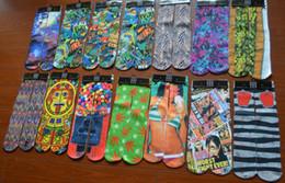 Wholesale Wholesale Printed Towels - Brand new Cotton men's 3D Printed Socks emoji Printing Socks chinelo masculino Towel Bottom Sport Stocking 240w
