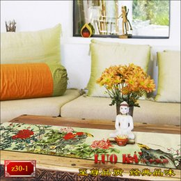 Wholesale Hotel Bedding Runner - New high-end custom Chinese classical bird table cloth table runner bed coverings flag modern coffee table towel hotel