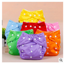 Wholesale Newborn Baby Diaper Nappy - Cloth or mesh Diaper 2016 High Quality Adjustable Reusable Washable Baby Cloth Diaper Nappy Newborn Cloth Diapers m449