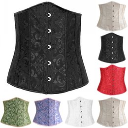 Wholesale Sexy Corsets Out - 2016 Sparkle Bodysuit Women Shapers Waist Trainer Training Corsets Cheap Sexy Nude Black Purple Bustier Hollow Out Skirted Corset 13034