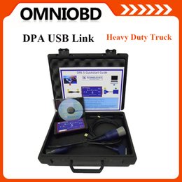 Wholesale Italian Adapter - 2016 A+DPA5 Dearborn Protocol Adapter 5 Dearborn Portocol Adapter New Released CNH DPA 5 For Multi-Brand Heavy Truck heavyduty No Bluetooth