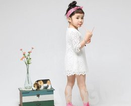 Wholesale Red 12 Mo Dresses - Retail New Girls Dresses Kids Clothing Half Sleeve Lace Mum And Children Family Princess Dresses 3-12Y 1232