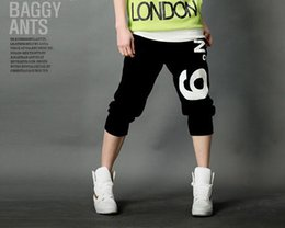 Wholesale Loose Cool Trousers - Camo Joggers Men's Pants 2015 New Fashion Outdoor Sports Hip Hop Rope No 9 Nine Summer Cool Cropped Soccer Trousers Sweatpants