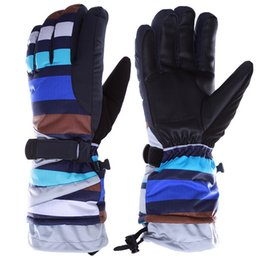 Wholesale Skateboards Snowboards - High Quality Waterproof Windproof Winter Ski Gloves Snow Skateboard Hiking Snowboard Snowmobile Gloves Winter Outdoor Equipment