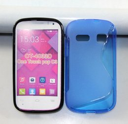 Wholesale Touch S Line - For LG V30 Q6 X Charge X Power2 Fiesta LTE K10 Power LV3 Aristo K8 2017 Alcatel One Touch Pop C3 OT4033 S line Soft Gel Tpu Case Back Cover