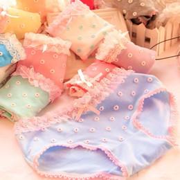 Wholesale Cute Sexy Undies - Wholesale-New Quality Briefs print cute Girls undies Sexy Panties Women Underwear Lingerie knickers Plus Size