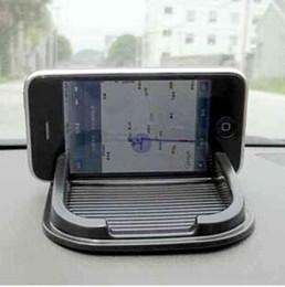 Wholesale Wholesale Interior Accessories - Black Car Dashboard Sticky Pad Mat Anti Non Slip Gadget Mobile Phone GPS Holder Interior Items Accessories