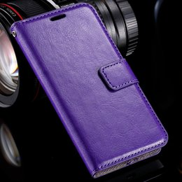 Wholesale Crazy Horse Skin Magnetic - Wholesale-For Nokia N630 Phone Case Luxury Crazy Horse Skins PU Leather Case For Nokia Lumia 630 635 N630 N635 Magnetic Flip Wallet Cover