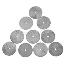 Wholesale Abrasive Cutting - 2015 22mm Stainless Steel Round Cutting Awtooth Saw Blade Rotary Discs Grinder Wood Wheel Abrasive DIY Power Tool Accessories order<$18no tr