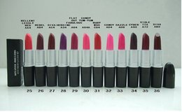 Wholesale Wholesaler Name - free shipping High quality New Makeup MATTE LIPSTICK 3G with name