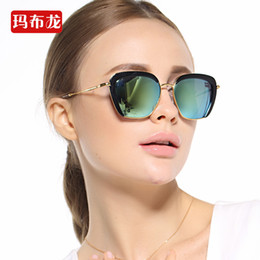 Wholesale Unisex Wayfarer - 2016 Summer Women Mens Unisex Retro Eyewear Semi-rimless Sunglasses Reflective mirror Lens Driving Glasses Spectacles Outdoors