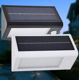 Wholesale Patio Floor Lights - 400 Lumens Outdoor Solar Lamp Motion Sensor Light, 32LED Rechargeable Step Stairway Path Landscape Garden Floor Wall Patio Lighting Lamp