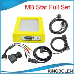 Wholesale Quality Mb Star - High Quality MB Star C4 for Mercedes Benz Diagnostic tool SD Compact 4 Full set Two years warranty DHL Free Shipping