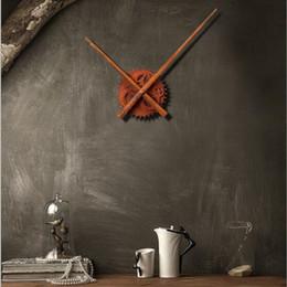 Wholesale Table Gear - Clock Mechanism Rust Clock Gear Wall Clocks Accessories Long Pointer Core Shell Table Saat Horloge Murale Reloj Duvar Saati Klok