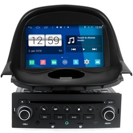Wholesale Dvd Car Peugeot - Winca S160 Android 4.4 System Car DVD GPS Headunit Sat Nav for Peugeot 206 with 3G Radio Video Tape Recorder