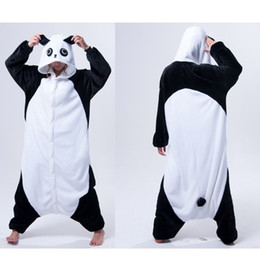 Wholesale Ladies Pajamas Xl - Kongfu Panda Animal Onesies Pajamas Adult Onesies Costume Pyjamas Women Ladies One Piece Pyjama Anime Cosplay Kigurumi Animal Costumes