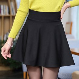 Wholesale Green Skirts For Women - Empire Women Skirt 2018 Casual Skirt New Mini Skirts For Lady Faldas Plus Size