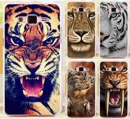2019 галактический чехол для телефона Wholesale-Good Selling Print Lion Tiger Owl Phone Case Cover Skin Shell For  Galaxy Grand Prime G530 G530H G5308W Cases Covers дешево галактический чехол для телефона