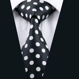 Wholesale Mens Cravat Tie - 2016 Fashion New Men's Necktie Floral Tie For Mens Business Cravat Bridegroom Polka Dots Stylish Neck Tie D-1190