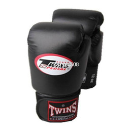 boxing gloves Promo Codes - Free shipping Twins boxing gloves strap bundle