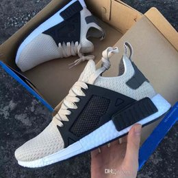 Wholesale Cheap Adult Shoes - TOP Quality NMD XR1 Japan Glitch Black White Blue Camo Adult Running Shoes sports women sneaker cheap man online for sale