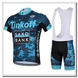 Wholesale Saxo Bank Tinkoff Bib Shorts - Top Sales Tinkoff Saxo Bank Camouflage 2015 Cycling Jerseys Breathable Quick Drying Short Sleeve Cycling Bib Pant Custom Cycling Jersey Sets