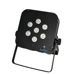 usa mk UK - Moka MK-P02 7 *10w 4 in 1 RGBW Wireless Battery LED Par Lighting Club Stage Lighting