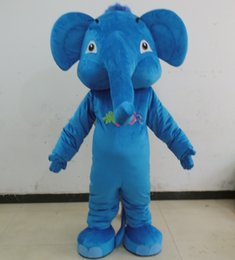 Wholesale Adult Pink Elephant Costume - SX0723 100% positive feedback brand new pink blue  grey elephant mascot costume for adult to wear