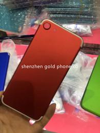 Canada pour iphone7 coloré logement coloré pour iPhone 7 pièces de rechange de batterie multicolore Couverture arrière en gros haute quanlity pour iphone7 Retour Offre