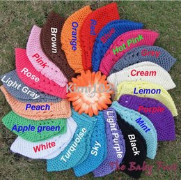 Wholesale Cotton Beanie Wholesale - 2015 New Cheep Baby Kufi Hats Crochet Toddler Beanie Girls Boys Cotton Hat Big Size Kufi Caps BB30